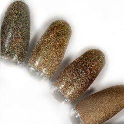 rainbow effect, nail art, mistero milano, nagels, decoratie, versiering, styling, dark gold, goud