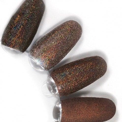 rainbow effect, nail art, mistero milano, nagels, decoratie, versiering, styling, brown, bruin